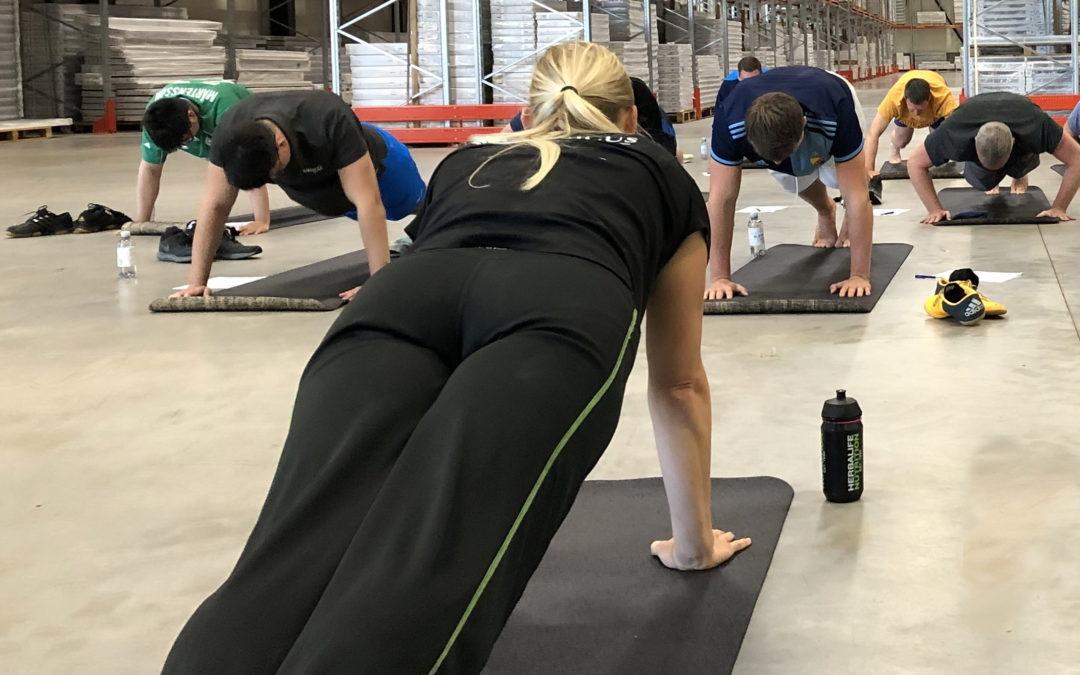 Fystest, träning och ergonomi – vilken kombo!