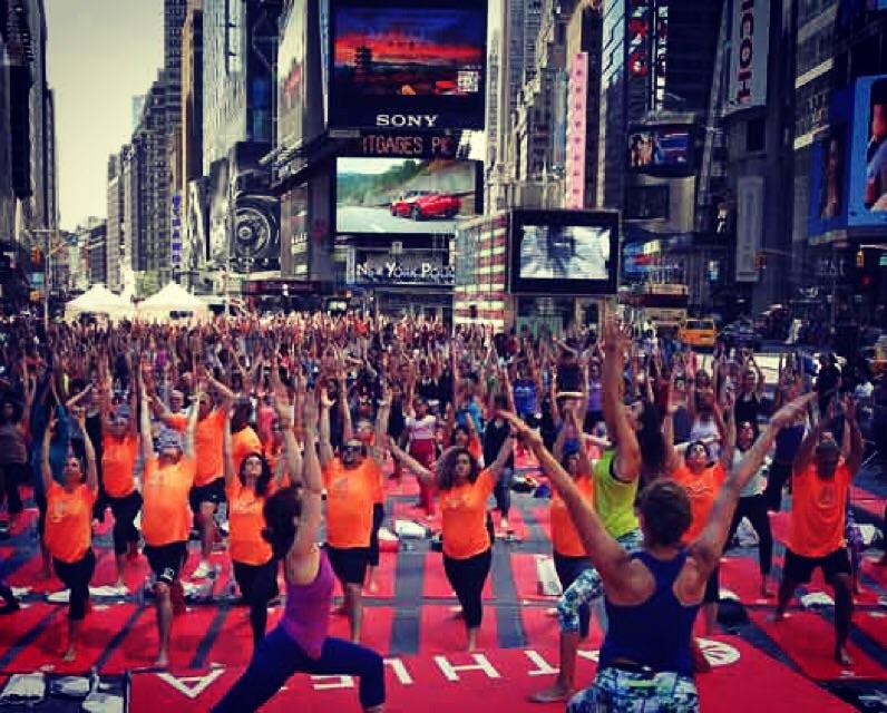 Lyckorus: New York- träningsresa …. ???