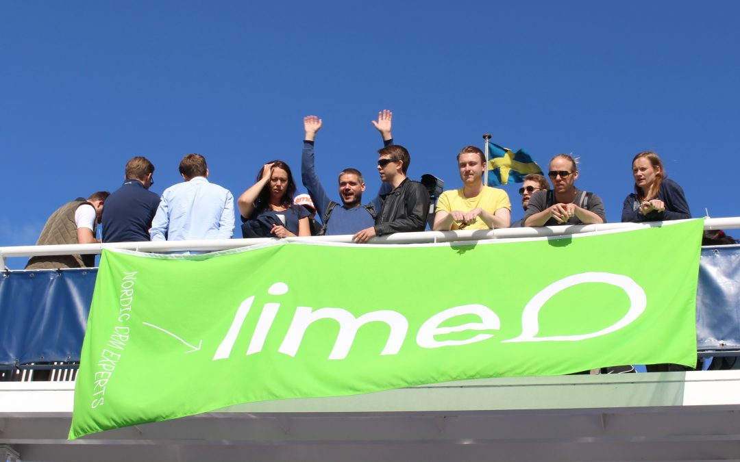 Föreläsning för Lime på båten till Hven