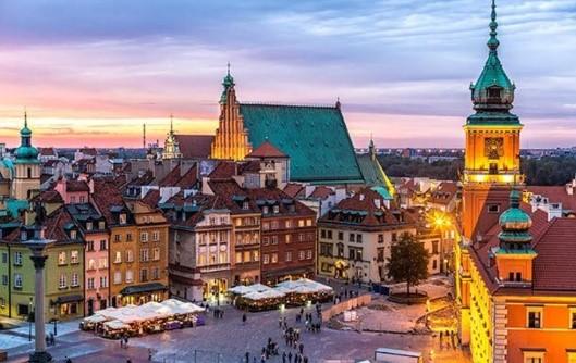 Träningsresa våren 2020 Warszawa