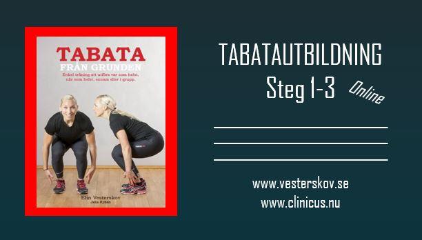 Tabatautbildning steg 1-3
